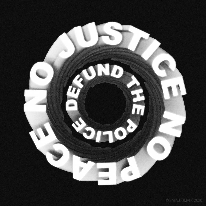 No Justice No Peace Defund The Police