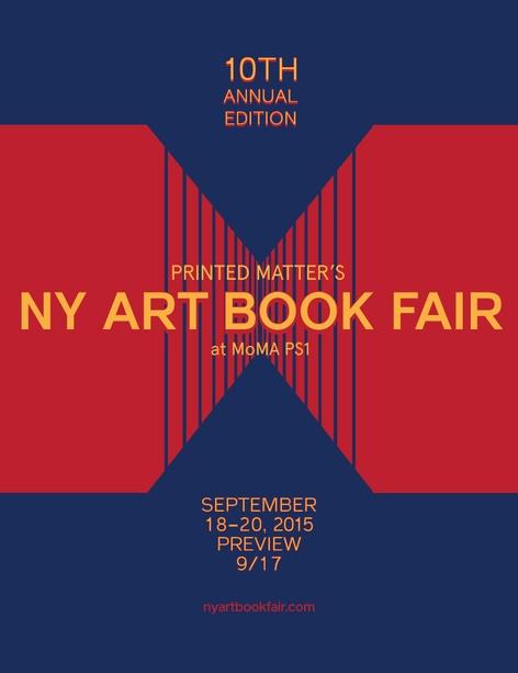 THE NY ART BOOK FAIR 2015