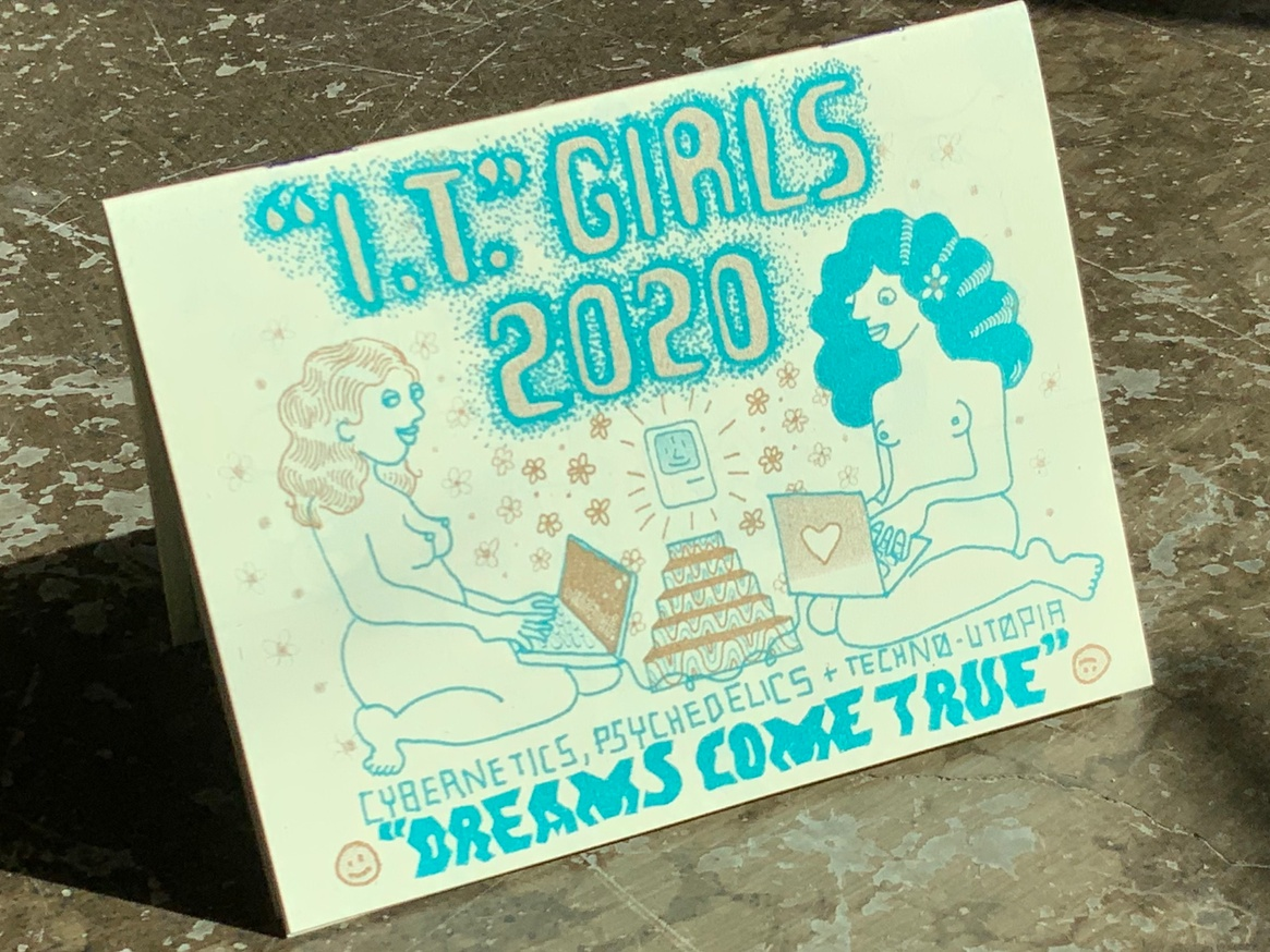 """Nudie Ladies 2020: """"I.T."""" Girls! Cybernetics, Psychedelics and Techno-Utopia"""