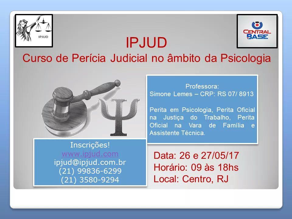 Perícia Judicial no Âmbito da Psicologia - RJ