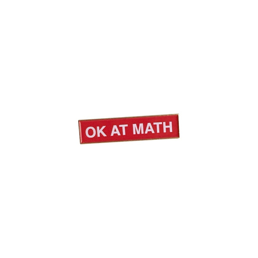 OK AT MATH Pin