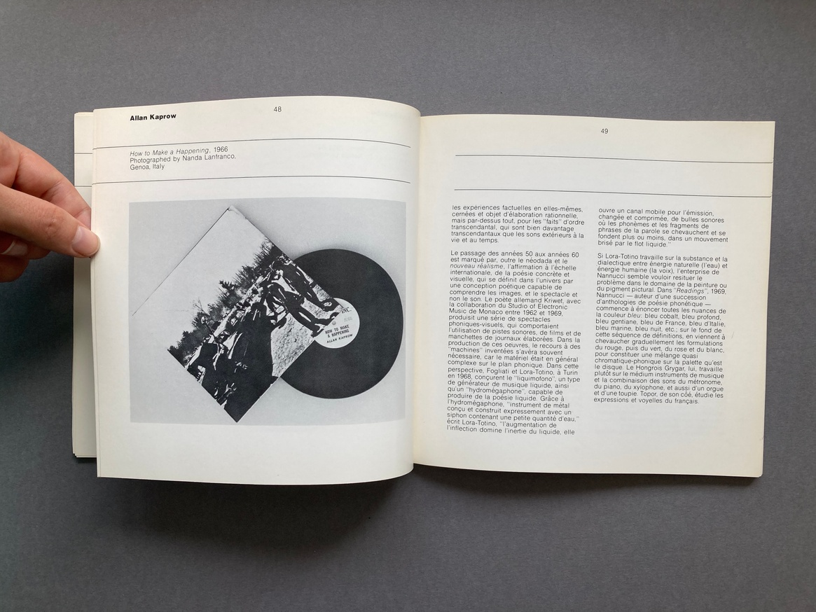 The Record as Artwork from Futurism to Conceptual Art: The Collection of Germano Celant thumbnail 7