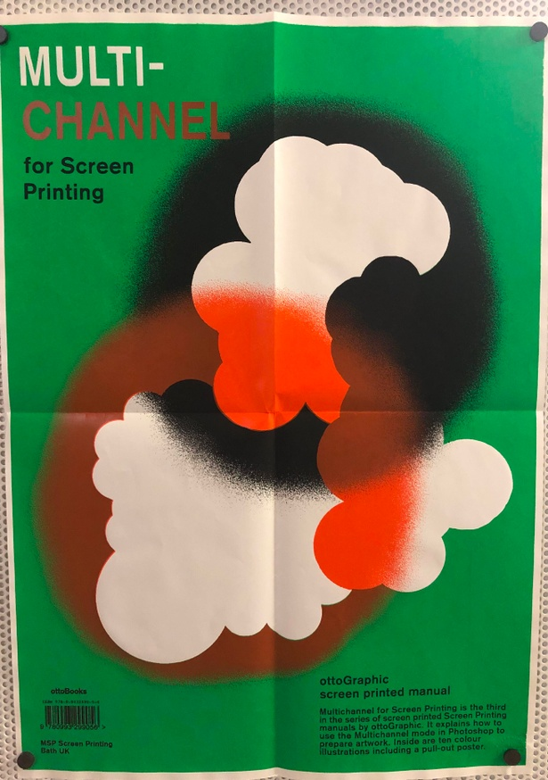 Multichannel for Screen Printing Poster