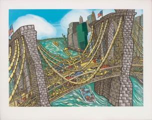 Brooklyn Bridge Bustle, 2002