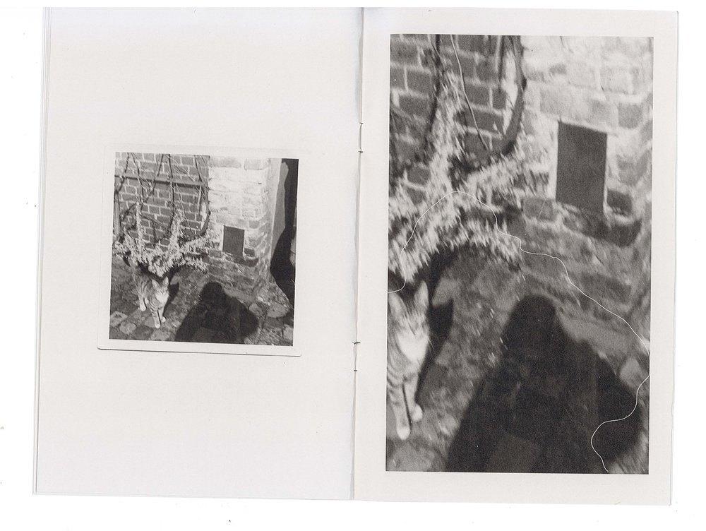 (39) Vintage Photo Lot / Shadows Photographer Vampire Ghosts - SNAPSHOTS 1915-65 thumbnail 7