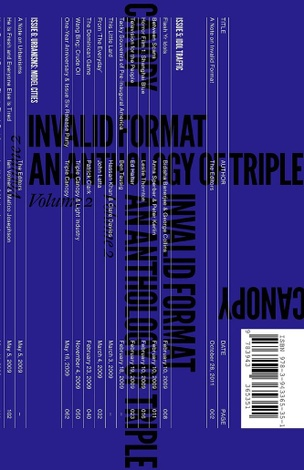 Invalid Format: An Anthology of Triple Canopy, Volume 2