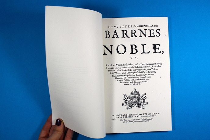 The Barrnes Noble : A Twitter Addendum thumbnail 2