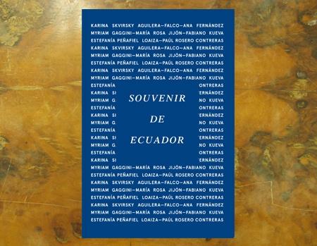 Souvenir de Ecuador