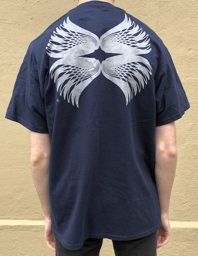 Fred Martinez T-Shirt in Navy [Large] thumbnail 2