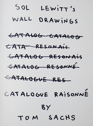 Sol Lewitt's Wall Drawings Catalogue Raisonné