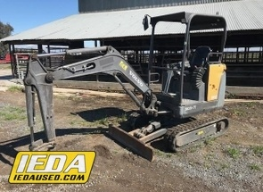 Used 2012 Volvo EC20C For Sale
