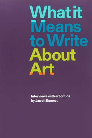What it Means to Write About Art