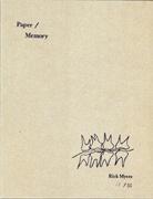 Paper/Memory