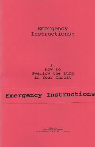 Emergency Instructions