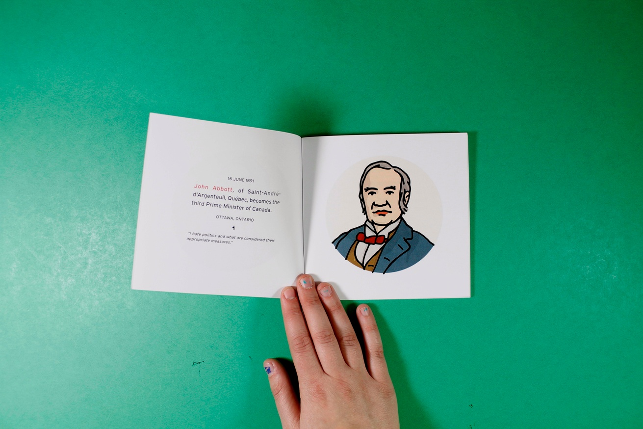 A Zine Devoted to All of the Prime Ministers of Canada thumbnail 2