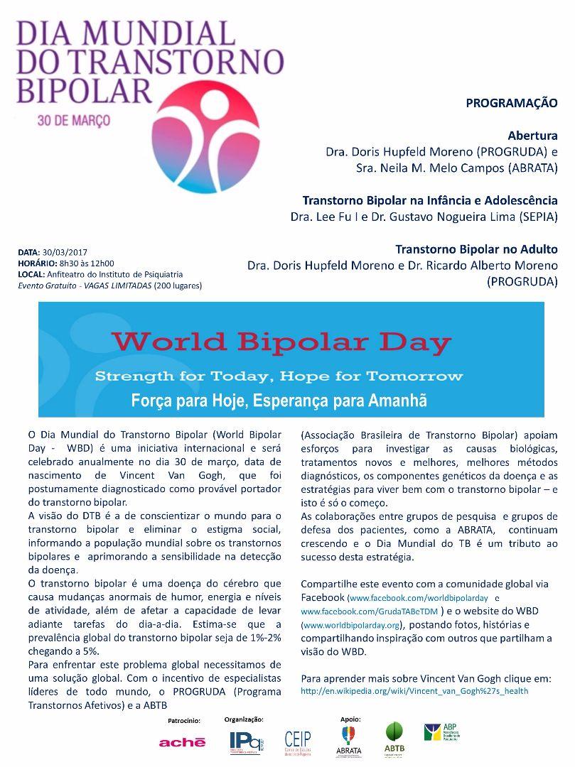 Dia Mundial do Transtorno Bipolar