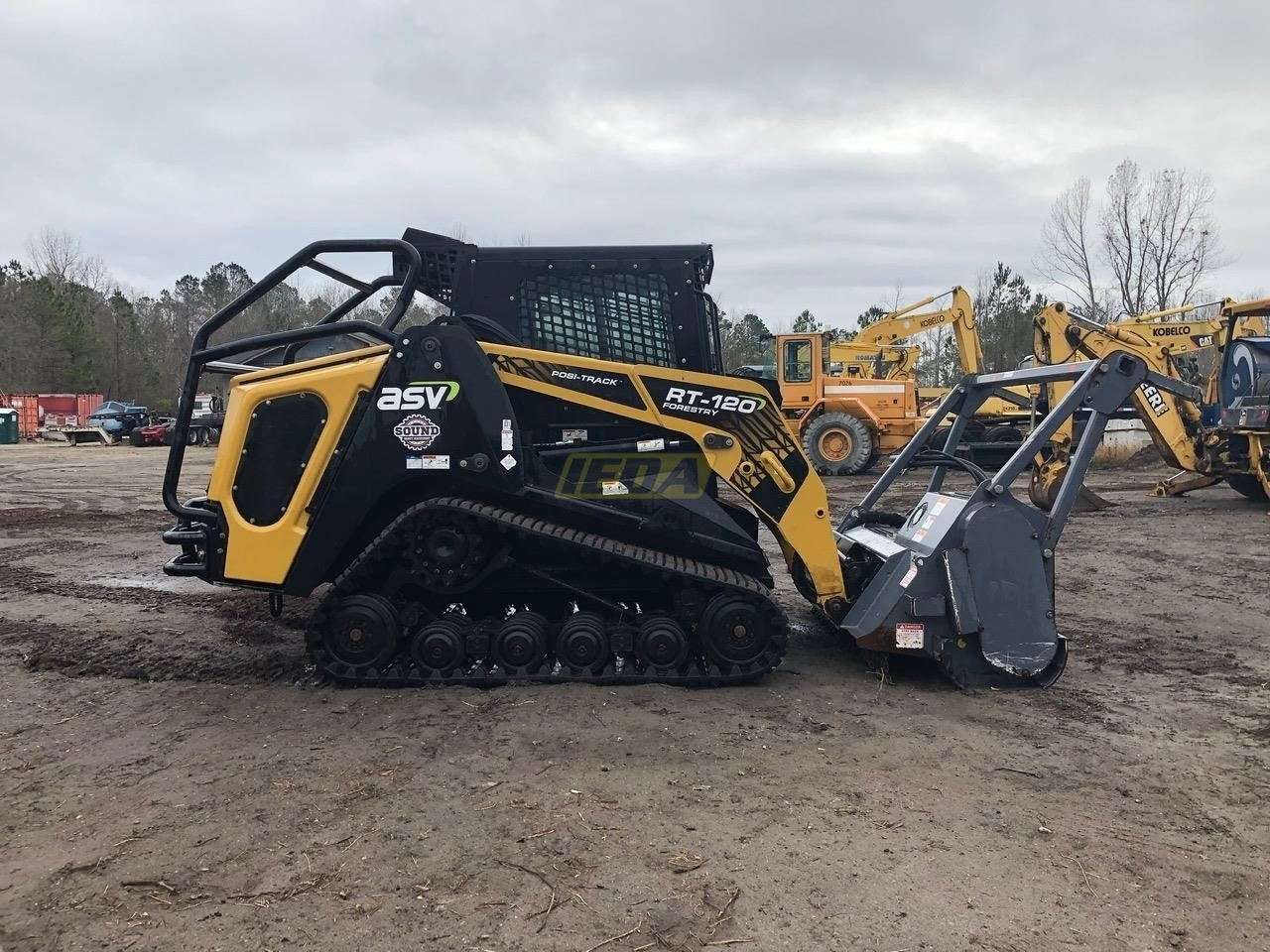 Used 2018 ASV POSI-TRACK RT120F For Sale