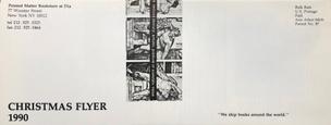 Printed Matter Christmas Flyer 1990