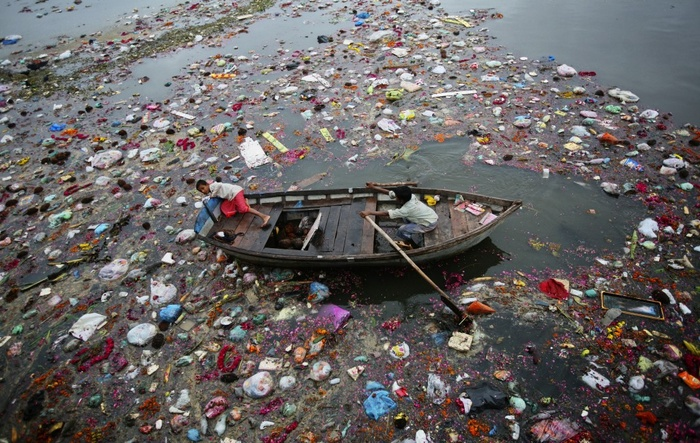 River Ganga 'the holiest of India's rivers is also its most polluted'