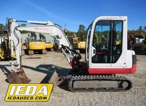Used 2007 Takeuchi TB135 For Sale