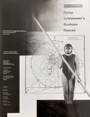 Bauhaus Dances, January 19-22, 1984 (Poster B)  [The Kitchen Posters]