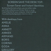 Screen Save The Desk Top