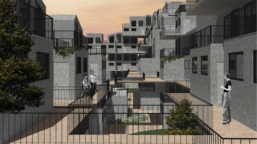 ARCH Solomonoff Danielle Nir Takashi Honzawa FA20 01 Courtyard Collage.jpg