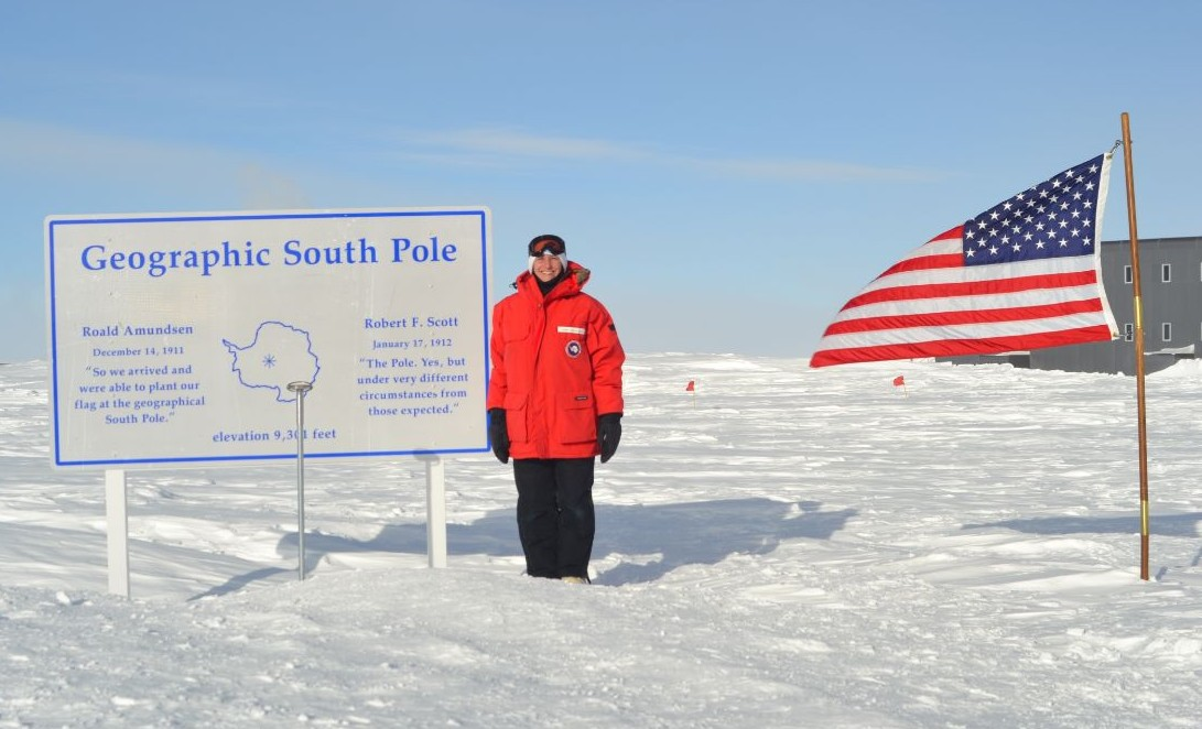 AMWS Alumni tackles Climate Science at the South Pole