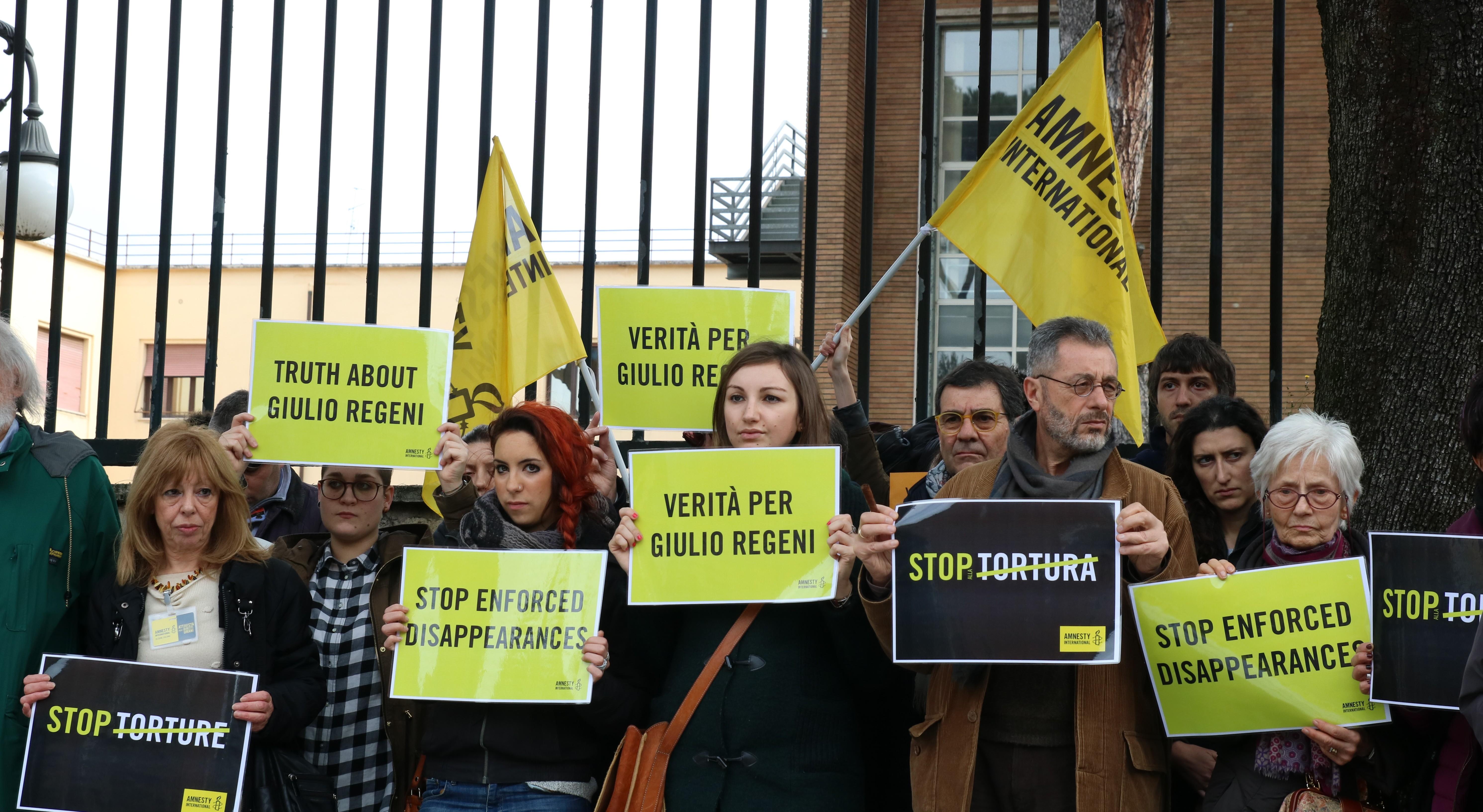 Egitto: emergenza diritti umani