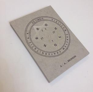 Ex Libris Bookplate