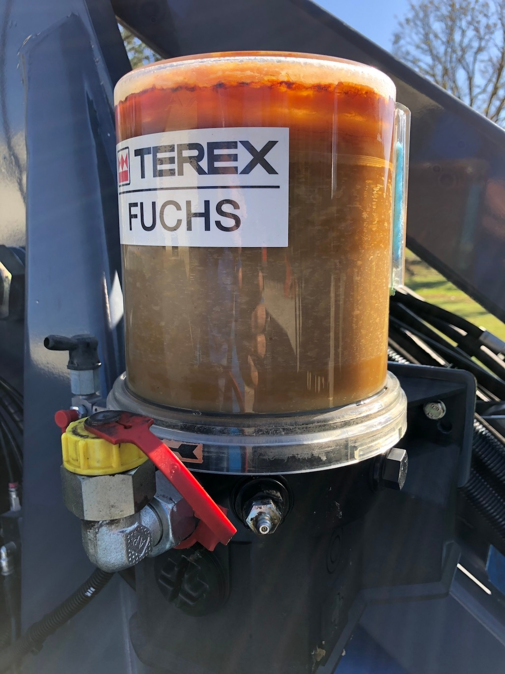 Used 2018 Fuchs MHL340F For Sale
