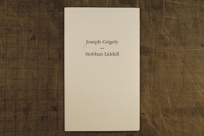 Joseph Grigely & Siobahn Liddell thumbnail 2