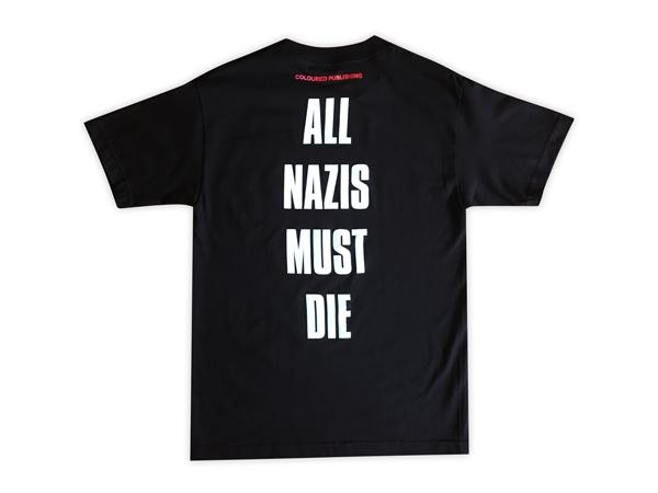 All Nazis Must Die T-shirt + Zine [Small]