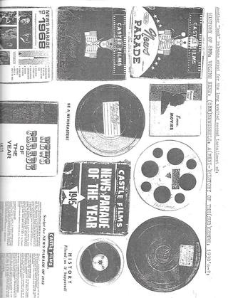 History of 8mm, Vol. 9 : Newsreels, a (Mini-)History of the (Sub)genre, 1930's - ?