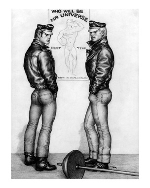 Untitled (Tom of Finland, 1965/2015)