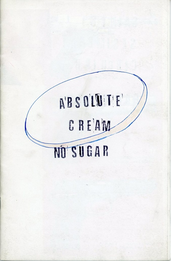 Absolute Cream No Sugar
