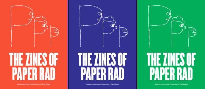 The Zines of Paper Rad