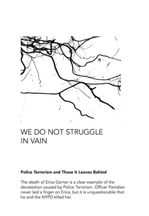 WE DO NOT STRUGGLE IN VAIN