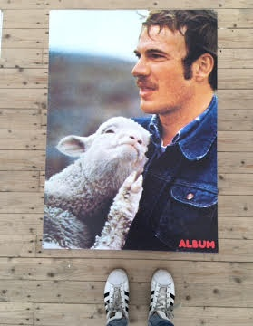 Daddy Poster Series (Man and Lamb)