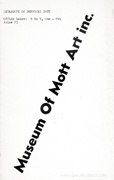 Museum of Mott Art inc. : Catalogue of Services 1972