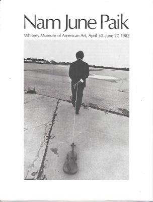 Nam June Paik Exhibition Catalog