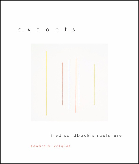 Aspects - A conversation on Fred Sandback's books and sculpture