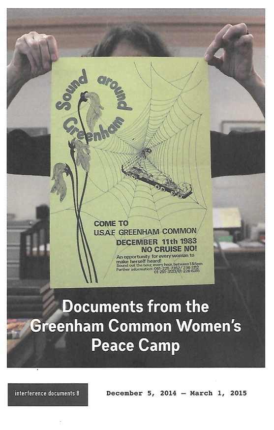 Documents from the Greenham Common Women's Peace Camp