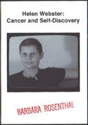 Helen Webster: Cancer and Self-Discovery