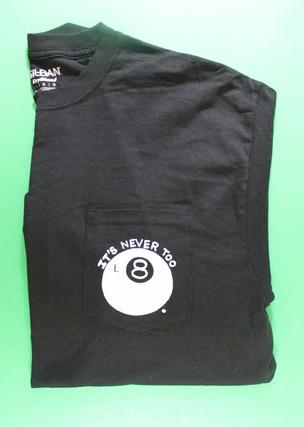 L8 Shirt in Black [XL]