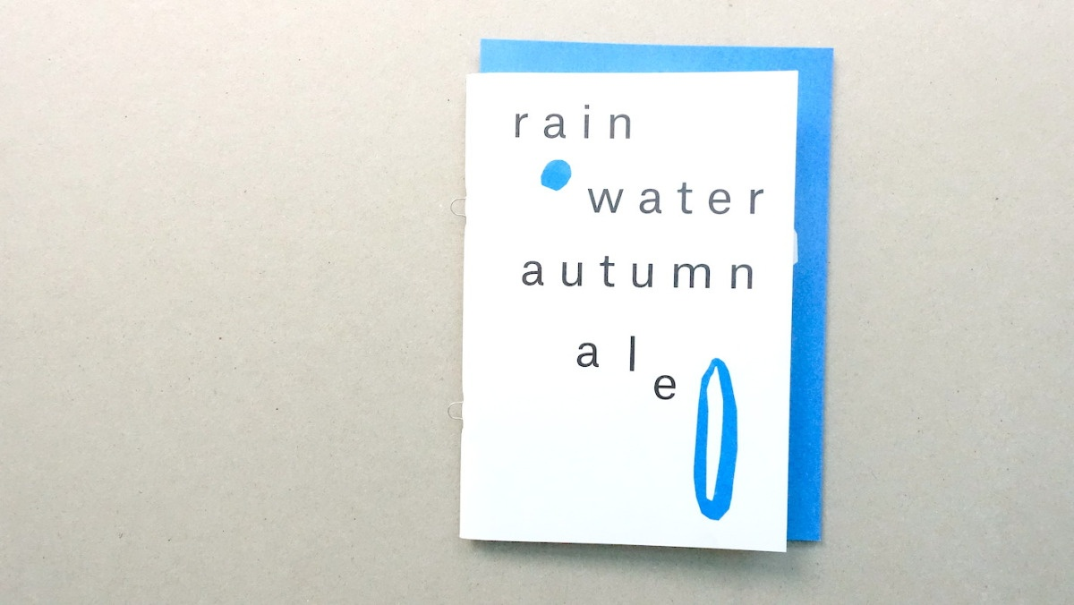 Net Book #2: Rain Water Autumn Ale