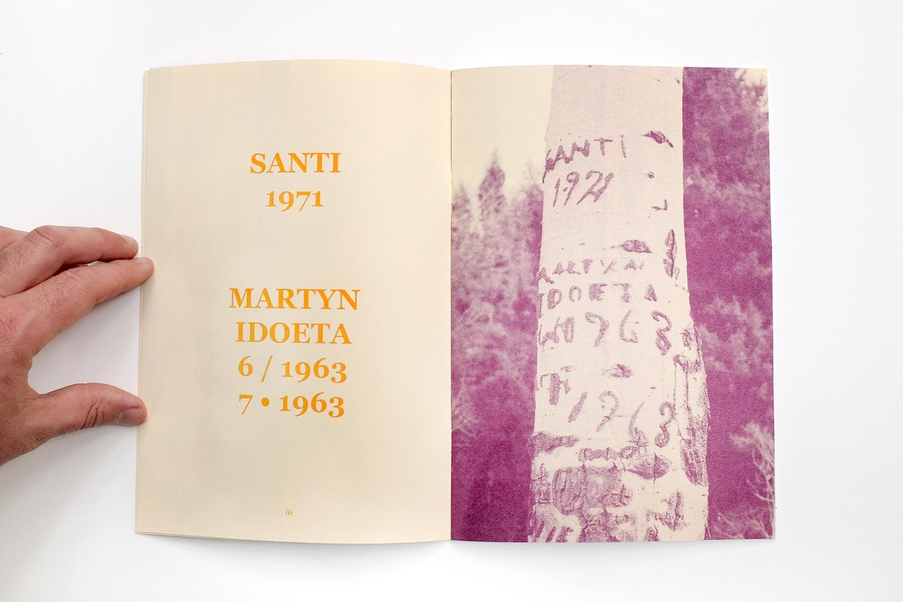 Written Names Fanzine #7: Names Carved into Aspen Trees by Sheepherders Sawtooth National Forest, Idaho thumbnail 2