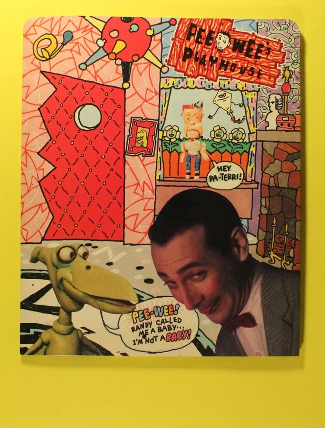 Pee-Wee's Playhouse Folder with Coloring Book Pages thumbnail 2