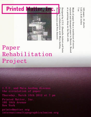 The Circulation of Paper