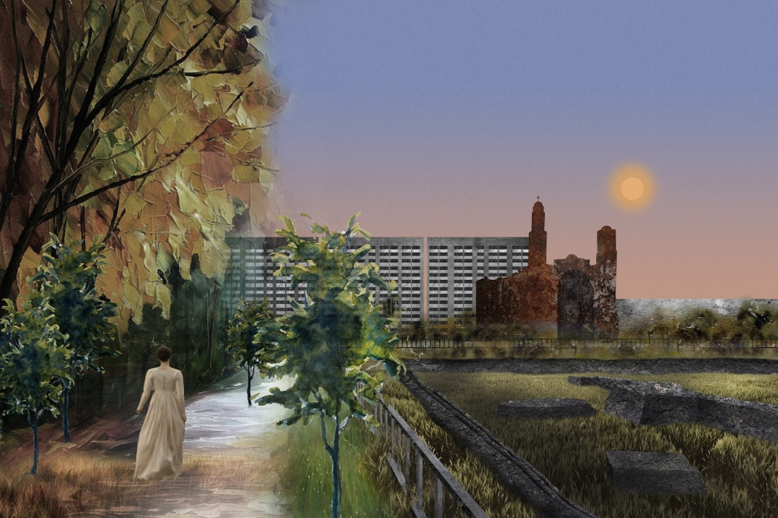 Painting of Tlatelolco
